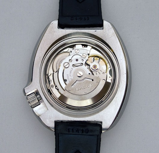 Seiko 6306A movement fitted to 6105