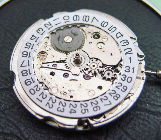 Seiko 6306 dial side
