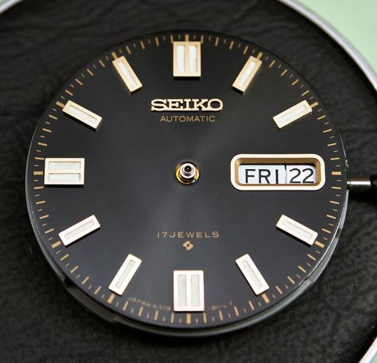 Seiko 6309-8019 dial
