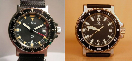 Sinn 815 and Tutima 513