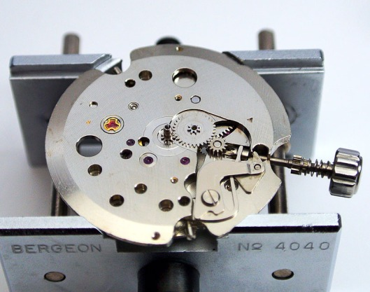Seiko 2451 movement dial side