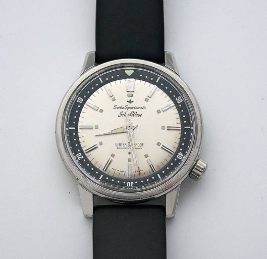 Seiko Sportsmatic Silverwave from 1964