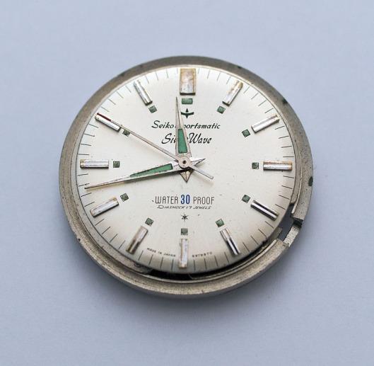 Sportsmatic Silverwave dial