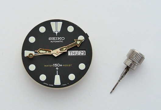 6309 dial and crown