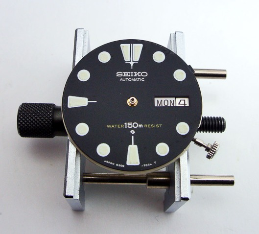 6309 dial refitted