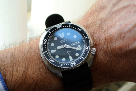 Seiko 6309 wrist
