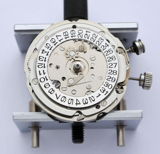 Bellmatic date wheel