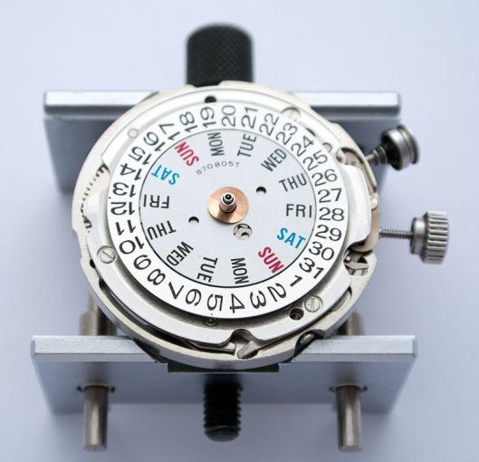 Bellmatic day wheel
