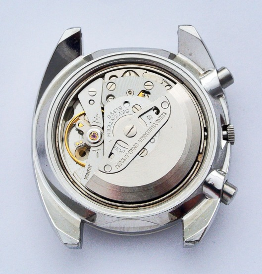 Seiko 6139 autowinding mechanism