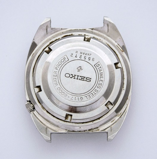 Seiko 6117-8000 case back
