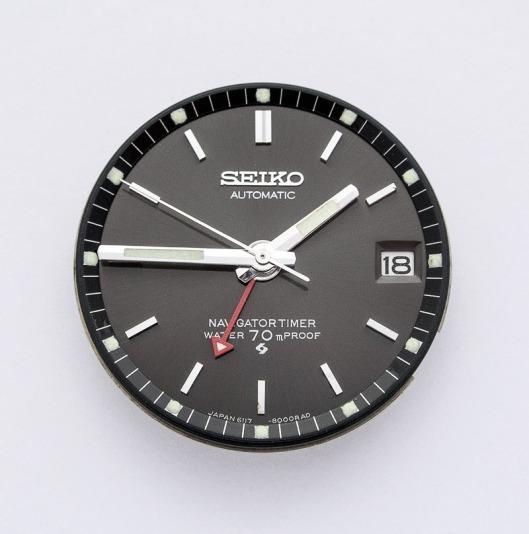 Seiko 6117-8000 dial