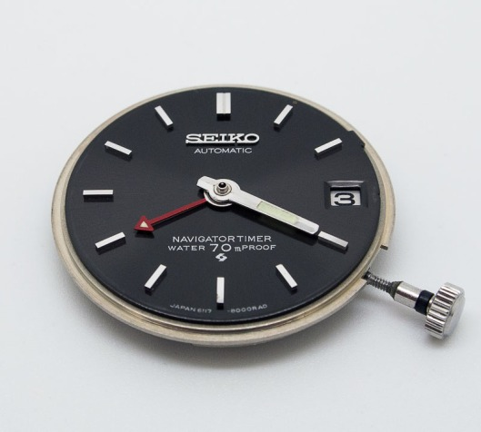 Seiko 6117-8000 hand alignment