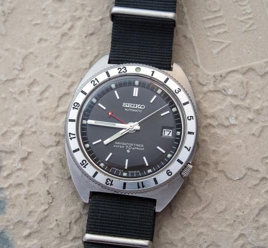 Seiko 6117-8000 Naviation timer