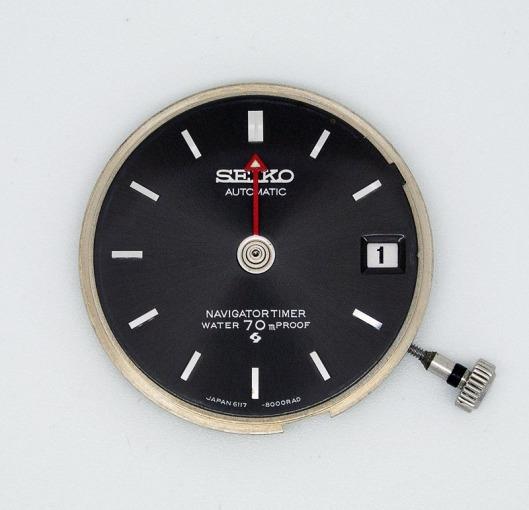 Seiko 6117-8000 Navigator dial