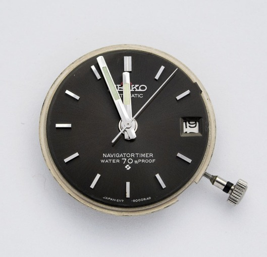 Seiko Navigation timer dial
