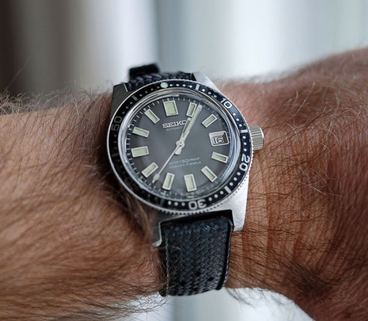 Seiko 62MAS on the wrist