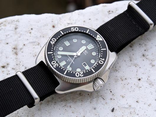 Seiko 2205-0760 on Nato