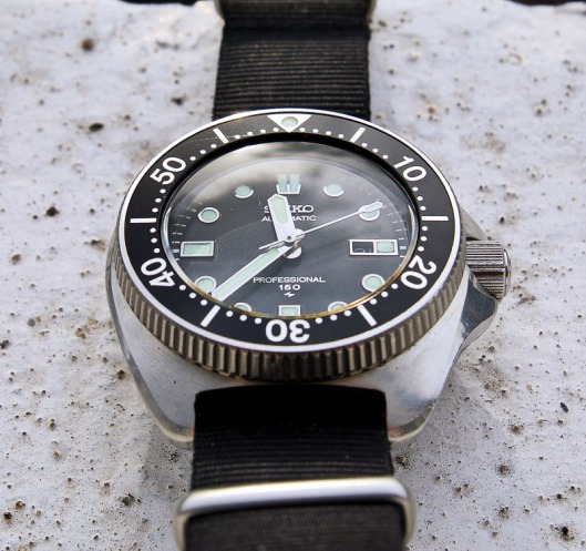 Seiko 2205 lady divers watch