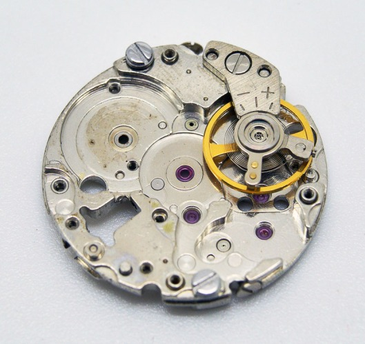 Seiko 2205 mainplate and balance