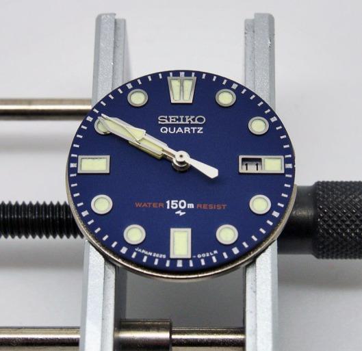 Seiko 2625 blue dial