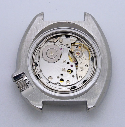 Seiko 6105 recased movement
