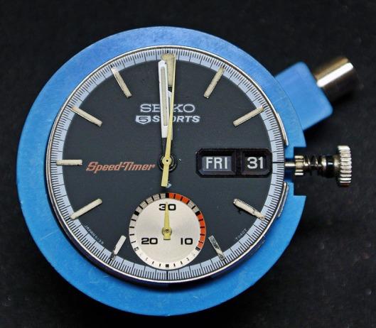 Seiko 6139-7010 dial