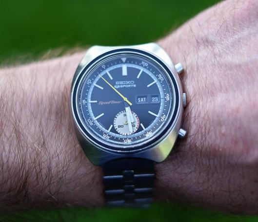 Seiko 6139-7020 wrist