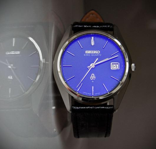 Seiko 4822 blue crystal