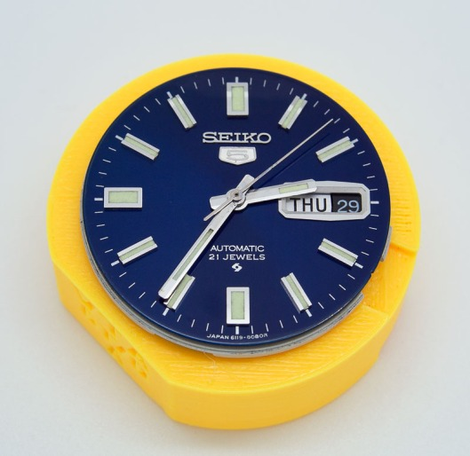 Seiko 5 blue dial