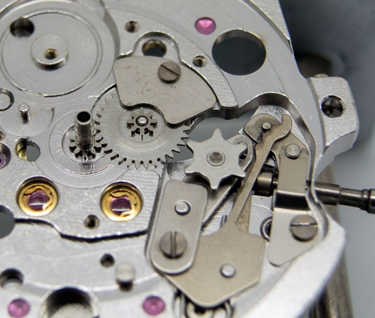 Minute wheel