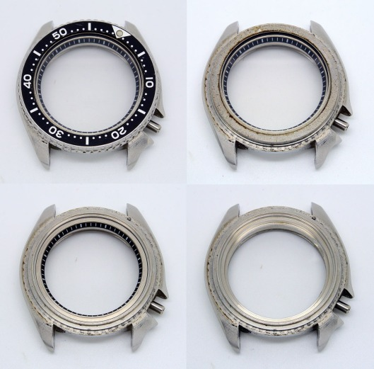 Seiko 7548 case disassembly