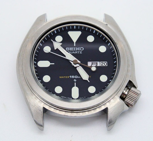 Seiko 7548 case without bezel