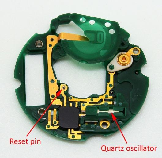 Seiko 7548 circuit