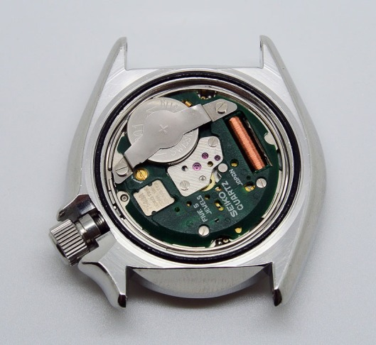 Seiko 7548 movement service