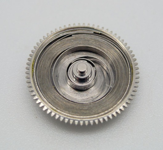 Seiko mainspring and barrel