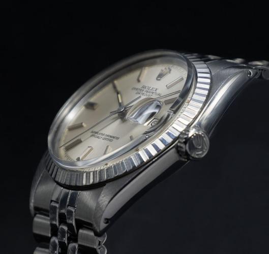Rolex 1603 side view
