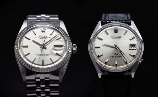 Rolex vs Grand Seiko