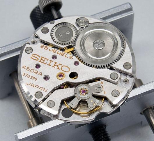 Seiko 4502A 25 jewels