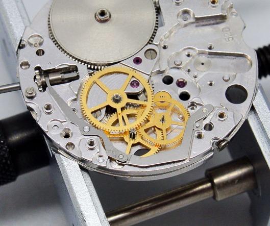 Seiko 4502A hacking lever