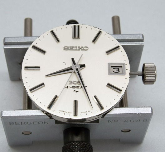 Seiko dial and hands