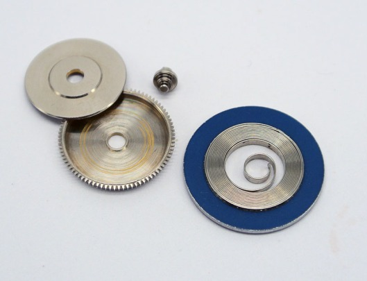 6145 replacement mainspring and barrel