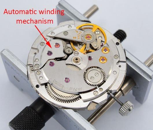 8305 automatic winding