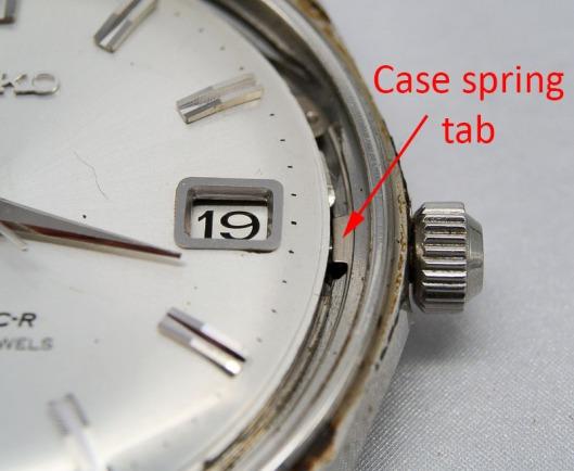 Seiko 8305 case spring