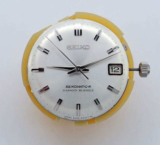 Seiko 8305 dial and hands