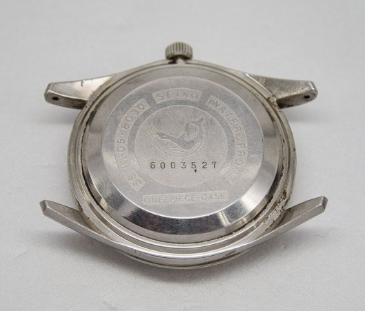 Seiko 8305 one piece case