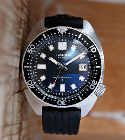 High beat Seiko 6105