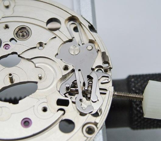 ETA 2836 setting lever