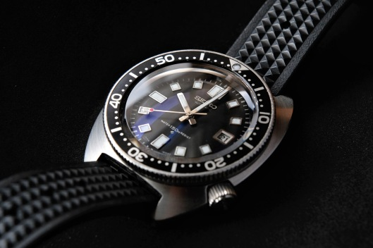 High beat Seiko diver