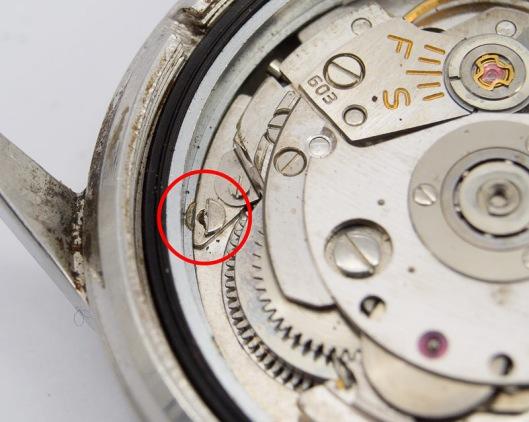 Case ring screw