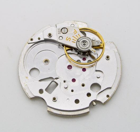 Seiko 603 main plate